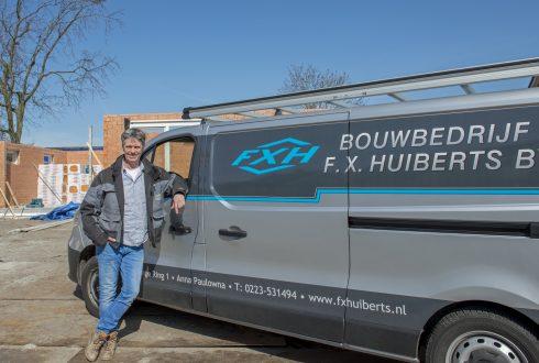 Koopman & Co in gesprek met John Huiberts van bouwbedrijf F.X. Huiberts